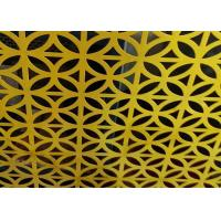 China Building Cladding Perforated Metal Sheet Architectural Grilles 500*2000mm Light Weight wholesale