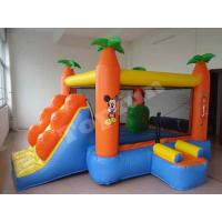 China Tropical Animal Kingdom Commercial Inflatable Bounce House PVC Coated 210D Nylon Fabric on sale