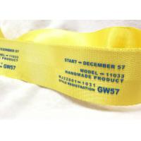 China Eco - Friendly Narrow Nylon Elastic Woven Tape Woven Name Tapes 30D / 50D / 100D Yarn wholesale