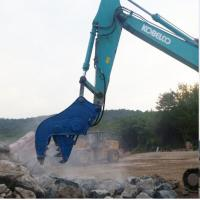 China 2s Cycle Time Hydraulic Concrete Pulverizer , Multi Processor Concrete Crusher For Excavator wholesale