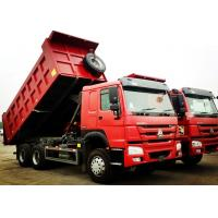 Buy cheap Sinotruk 6x4 371 Horse Power Heavy Duty Dump Truck 25 Tons HOWO Truck from wholesalers