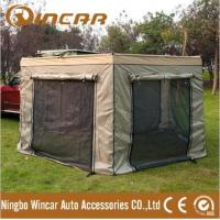 Quality Car Roof Top Tent / Australia Design 200D polyester Canvas fox awning from Ningbo Wincar for sale