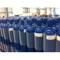 Buy cheap Steel Seal High Pressure 10L / 15L / 20L Compressed Gas Cylinder For High Purity Gas from wholesalers