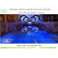 China indoor p6.25  smd full color led dance floor screen for disco hall, night club, T-stage wholesale