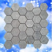 China natural slate honeycomb mosaic for floor & wall decoration on sale