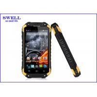 China GPS NFC PTT Rugged Waterproof Smartphone X8 Walkie Talkie Quad Core Smart Phone wholesale