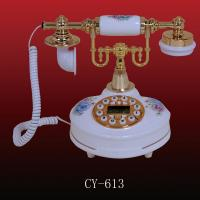 China Antique ceramic telephone (CY-613), Crafts  Phone,beautiful antique telephone wholesale