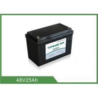 China Long Life Time 48v 25ah Lifepo4 Battery , Lithium Battery Pack For Back Up Power wholesale