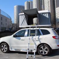 China Tear Resistant Car Top Tent Hard Shell With Clipper - Built Design wholesale