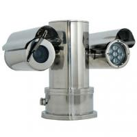 China 100m IR PTZ CCTV Camera for Mining or Petrol Station Monitoring , Explosion Proof Cameras wholesale
