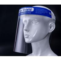 Buy cheap Anti Fog Isolation Protective Face Shield Personal Protection Equipment from wholesalers