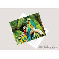 China Promotion Cartoon 3D Lenticular Postcard / Flip Lenticular Image Printing on sale