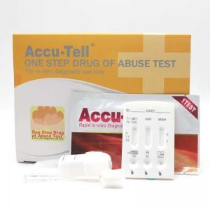 China Accu-Tell® Multi-Drug Saliva Rapid Test Cassette wholesale
