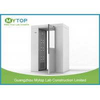 China 304 SS Air Shower Clean Room Lab Equipment Passage For Pharmaceutical Factory wholesale