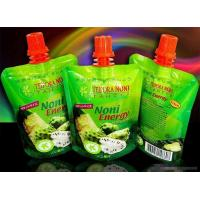 China Fruit Juice Spout Pouch Packaging With Cap wholesale