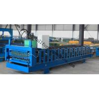 China Full-Automatic Standing Seam / Floor Deck Cold Roll Forming Machine 0.4mm - 0.8mm wholesale
