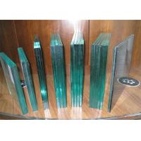 China Bullet Proof Laminated Security Glass / Clear Laminated Glass For Bank wholesale