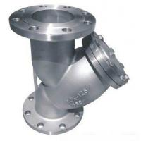China Flanged End High Pressure Strainer 2 Y Type Class 150 With Gasket wholesale