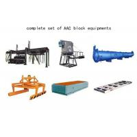 China Cost Performance Fly Ash Autoclaved Aerated Concrete Equipment AAC Block Machine wholesale