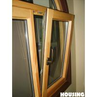 China Adjustable Aluminum Window With Clear Glass ,  / IOS Approved on sale