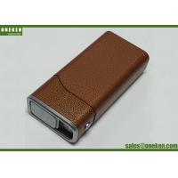 China Cigarette Case Portable Power Bank 4400mAh With Built - In Smart Chip wholesale
