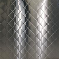 Buy cheap Embossed stainless steel 4'x8',SS304,THICKNESS 0.6MM,1.0MM,1.2MM from wholesalers