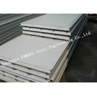 China 100mm Residential Fireproof Steel Sheet EPS Sandwich Panels Wall Cladding Systems wholesale
