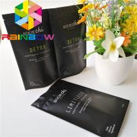 Food Grade Material Stand Up Zipper Pouch Cone Shaped Moringa Powder Bag With