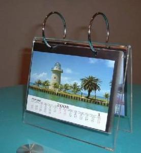 China High Quality Acrylic Calendar Holder With Beautiful Shape  wholesale