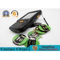 Buy cheap High Frequency 13.56MHz RFID Casino Chips Handheld Asset Tracking Handheld from wholesalers