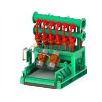 China TRCN100-12N mud desilter with excellent hydrocyclone for oil & gas drilling, HDD trenchless construction on sale