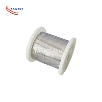 China Nonmagnetic 0.025mm Pure Nickel Wire For Heating Elements wholesale