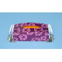 Buy cheap Quick Delivery Fashion shape Acrylic Tissue Box from wholesalers