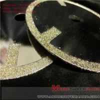 China Electroplated Diamond Cutting Blades & Discs Alisa@moresuperhard.com wholesale