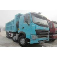 Quality Large Capacity 30T 8x4 12 Wheeler Front Lifting Tipper Truck For Transporting Sand for sale