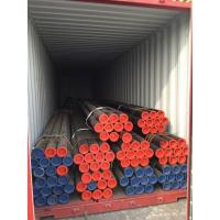 China Non Alloy Coated Steel Pipe Welded Circular 1.0031 EN 10296 - 1 2003 E190 Grade on sale