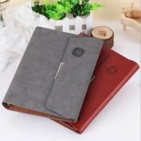 China Supper gift Three folding loose spiral diaries Leather diary LN-004 wholesale