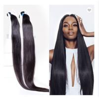 China 40 Inch 100% Peruvian Human Hair Weave For Black Women No Synthetic wholesale
