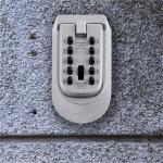 China Office Outdoor Key Safe Box Solid Zinc Alloy Body Combination Lockbox wholesale