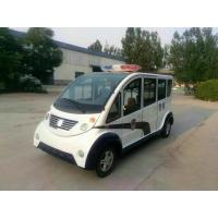 Buy cheap 6 seats Electric Platform Truck Clean Energy Comfortable Compartment from wholesalers