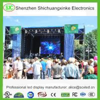 China P3.91 Rental RGB Color indoor led video wall , flexible led screen Exhibition wholesale