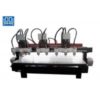 China Three Drive Eight CNC Multi Head Drilling Machine , Industrial CNC Router wholesale