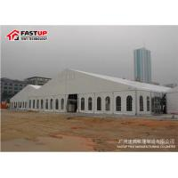 China Contemporary Outside Wedding Tents , Flameproof Clear Wedding Tent OEM Available wholesale