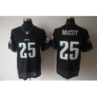 China Nike NFL Philadelphia Eagles 25 LeSean McCoy black Elite Jersey wholesale