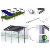 China Innovative Design Adjustable Rolling Ground Mount Solar System Outstanding Flexibility wholesale
