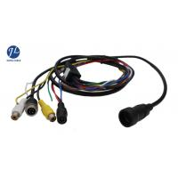 China 12V 24V 13 Pin Din Cable For Rear View System , Video And Power Cable Single Shielding wholesale