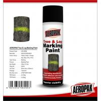 China Fluorescent Orange Tree And Log Marking Paint Waterproof With Strong Adhesive wholesale
