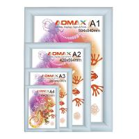 Quality A1 Snap Display Frames , Indoor Advertising Changeable Poster Frames for sale