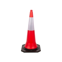 Buy cheap Heavy Duty High Visibility Qatar Road Traffic Cone 5KG from wholesalers
