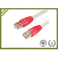 China 10G / 1000 BASE -T Cat6 Network Patch Cord With Gold Plated Connector wholesale